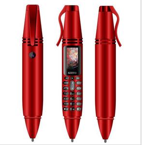 """2019 K07 Ручка для записи Mini Мобильный телефон 0,96 """"Tinny Screen GSM Dual SIM Камера Фонарик Bluetooth Dialer Мобильные телефоны"""