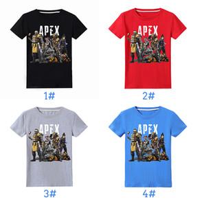 Apex Legends Kids T-shirts 4 colors 6-14y Children Boys 100% Cotton T-shirts kids  clothes boys tee shirt kids clothes W958675