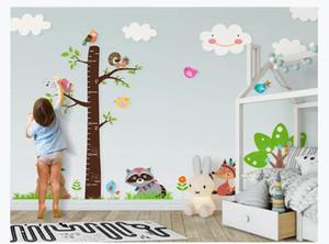 Benutzerdefinierte Fototapete für Wände Cartoon großen Baum Messhöhe Aufkleber Kinderzimmer Tapete Hintergrundbild Tapete für Wände 3d