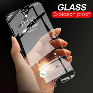 HD Tempered Glass For iPhone 11 Pro XS Max XR 6S 8 Plus for Pixel 4 xl Screen Protector For Samsung S10 Film 2.5D 9H with retail pack