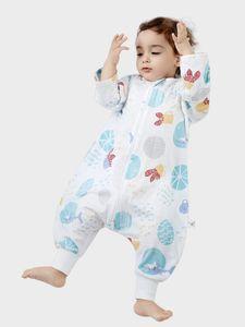 Детские спальные мешки Толстые Лоскутное младенца Спящий мешок Anti-пиная Бантинг Sleepsack Новорожденный мешок новорожденного