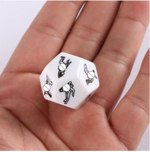 Newly 1 PCS Exotic Tricks Dice Game Toy For Bachelor Party Fun Adult Couple Novelty Gift fun toys Adults Funnels