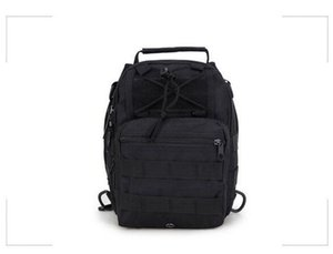 New camouflage chest bag Oxford Pack Jungle Tactical Crossbody Bag shoulder bag Korean version Small backpack casual pockets JSH1520-1