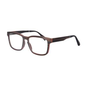 Wholesale- Natur Holz optischer Rahmen einer Brille Kurzsichtigkeit Brillen Brillengestell hohe Qualität SH73008