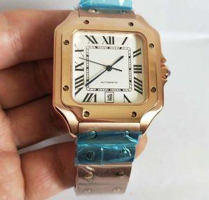 La mejor fábrica de alta calidad 3 estilo último estilo w20121u2 100 XLmechanical reloj automático 38MM dial moda reloj de hombre