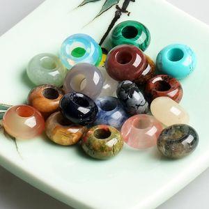 Vente Perles en verre pour les bijoux Faire Collier Bracelet bricolage à la main Artisanat Big Hole