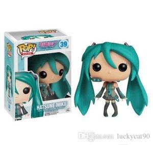 Funko POP Vocaloid - Hatsune Miku Винил фигурку с Box # 39 подарков игрушки куклы Бесплатная доставка Рождество