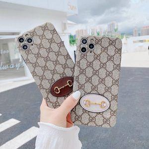 Designer de luxo Telefone clássico do iPhone para o caso do 11 Pro XS Max XR X 7 8 Card Plus tampa da embalagem