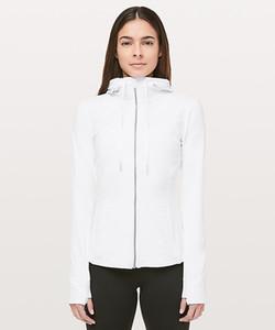 LU-37 Kapşonlu gündelik Koşu Ceket Kadınlar Spor ceket Uzun Kollu Yoga Ceket Elastik İnce Yoga Üst Kadınlar Spor Gömlek tanımlayın fermuar