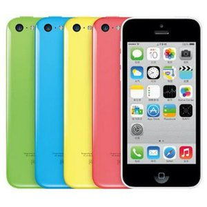 Original Refurbished Apple iPhone 5C 4.0 inch 8G 16GB 32GB iOS 8 Dual Core A6 8.0MP 4G LTE Unlocked Smart Phone Free DHL 10pcs