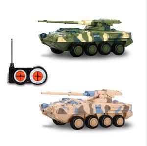 Radio Control 4CH Remote regalo di controllo Battle Tank Car RC militare Mini Tiger Battle Tank bambini RC Giocattoli