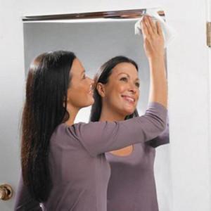 Wall Wall Espelho Adesivo retangular autoadesivo Room Decor vara adesivo no Art 4,17