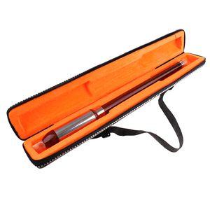 Chinoise verticale jouant de la flûte Bawu pipe F Tone Bau Folk Instrument de musique amovible pour débutant avec boîte de rangement