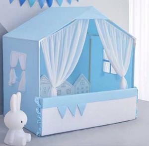 Pet Tente Nest Four Seasons Universal amovible et lavable Niche Teddy Petit Chien Chat Princesse Lit Tente Printemps Eté