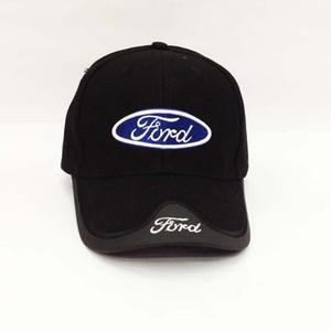 Nuovo arrivato cliente cotone nuova Mustang nuovo toyota cadillac da baseball del cappello del sole di modo tappo uomo come i colori blu nero T191022