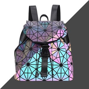 Luxury Designer Bag Famous Cosmetic Women Backpack Zipper Shoulder Bags Laser Waist Bowling Bag #211