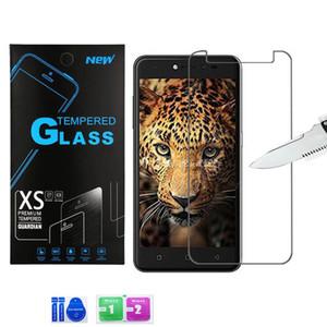 Für LG K51 Stylo 6 Ausgeglichenes Glas Moto g Stift G7 Power One Plus 7 Displayschutzfolie 2.5D 9H mit Paket
