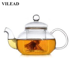 Handmade Heat-Resistant Borosilicate Glass Thick Tea Pot Filter Chinese KungFu Tea Teapot Scented Afternoon Tea Health Pot Accessory
