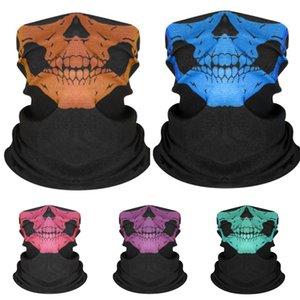 XFV7G Outdoor Hiking Skull Scarf Windproof Bandana Protection UV Ski Hiking Magic Neck Skull Scarf Camping Cycling Face Mask Fishing Scar#778