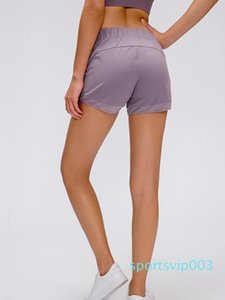 LU-41 Femmes yoga Aligner Hotty chaud court 5 Luminosity Foil voie et le train Élimination graduelle En Mouvement Everlux 2.5 Sport Gym short élastique