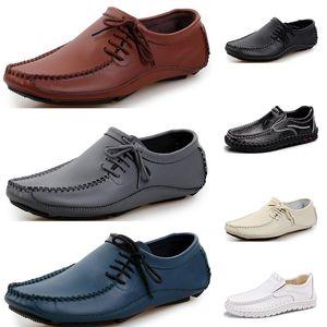 Mens Running shoes fashion sports men sneaker black white brown dark blue gray creamy white comfortable athletic dress trainer sneaker 87