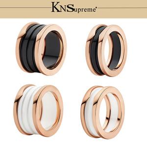 KN BGL s925 керамика Кольцо подарочный набор 1: 1 Оригинал 100% Стерлингового Серебра 925 Женщины Ювелирные Изделия Высокого Качества Подарок Есть логотип