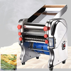 2020 Electric Noodle Press Machine Spaghetti Pasta Maker Commercial Stainless Steel Dough Cutter Dumplings Roller Noodles