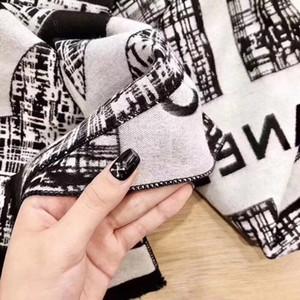Longo Moda Lenços Outono E Lenço Inverno Quente Womens Marca xaile Mulher Scarf écharpe 3 cores opcionais Altamente preto Qualidade