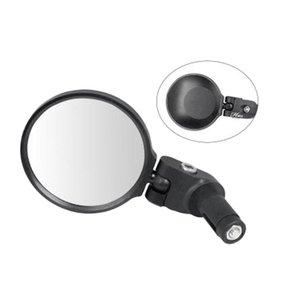 التعامل مع جبهة الطريق 68MM دراجات مرآة الرؤية الخلفية جبل مرآة الرؤية الخلفية مرآة السلامة مرآة لغير القابل للصدأ الفولاذ المقاوم للصدأ المس