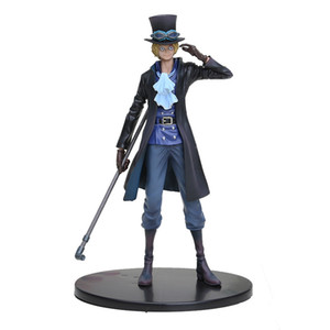 "Anime One Piece DXF SABO PVC Action Figure Koleksiyon Model Oyuncak 7 ""18 cm Y200421"