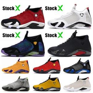 Supreme x Air Jordan 14 14s Jumpman retro 14 La para hombre zapatos de baloncesto mujeres hombres diseñador Wave Runner retro cestas deportivas entrenadores zapatillas