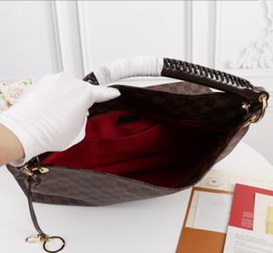2020 Klassische Handtasche mit Griff für Damen mit großer Kapazität Einkaufstasche klassischer N40249