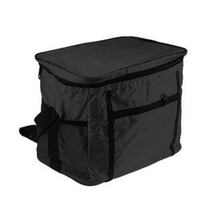 10L Открытый Обед Сумка складная алюминиевая фольга Изоляция пакет льда Сумки для пикника Lunch Box Folding Insulated Cooler Bag Закуска