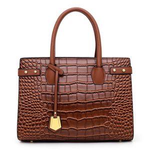 New Alligator Pattern Fashion Women Trend Embossing Shoulder Bag Hot PH-CFY20052659