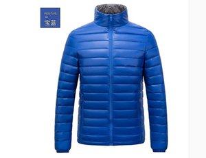 2020 Wholesale- Winter Duck Down Jacket Ultra light Men 90% Coat Waterproof Down Parkas Fashion mens Outerwear coat