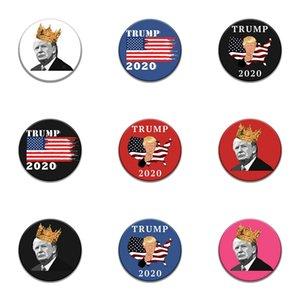 Introverti émail Pin Noir Blanc Trump Badge Trop Peopley Vêtements Sac Broche épinglette Punk Bijoux cadeaux pour les introvertis Amis # 290