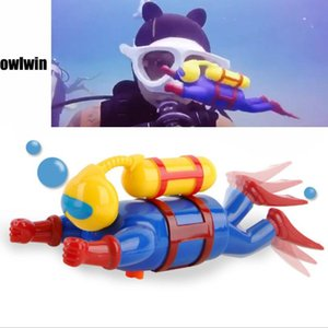Diver's doll Children's toys on the chain diver figurine dive people wind swimming bath toys Diving Pool Accessories Play