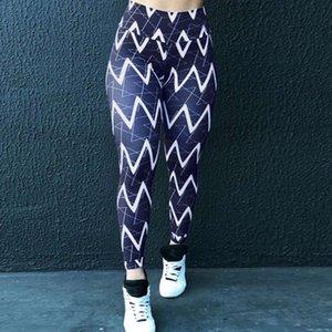 Women's Leopard Print Leggings Fitness Sports Running Yoga Athletic Pants Gym Sport Sportswear for Women Bule Trousers Hot Sale