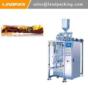 Automatic multifunction honey liquid stick pack machine Honey strip multi lane packing machine manufacturers