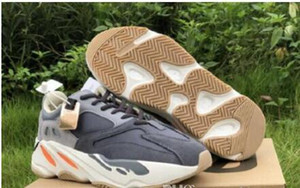 ssYEzZYYEzZYs v2 350boost Wave Runner 700 Magnet Mens Women Designer Sneakers New 700 Vanta Utility Black Kanye West Sport