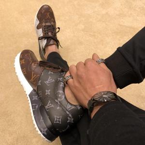 louis vuitton Lv Sonbahar Kış Moda Erkekler Ayakkabı Sneakers Chaussures Menşei Kutusu Erkek Ayakkabı Moda Bırak Gemi ile pour hommes