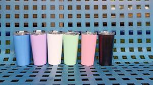 Paslanmaz Çelik Vakum İzoleli Tumbler Vakum İzoleli Tumblers 16 oz Şarap Cup Coffee Mug İçin SOĞUK ve SICAK içecekler
