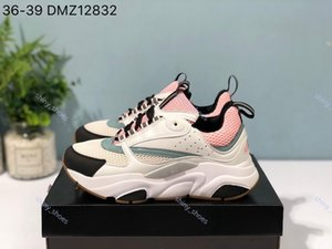xshfbcl 2020 New lussuoso D woman Canvas And Calfskin Trainers progettista Fashion New Sneakers B22 Trainer Technical Knit Shoes