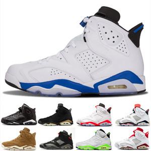 Basketball shoes Ücretsiz kargo 2018 çocuk 6 VI Basketbol Ayakkabı Çocuklar 6 s Spor Erkek Kız Gençler Bebek açık Sneakers boyutu 28-35