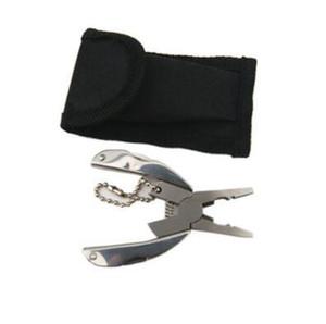 Multi Función bolsillo EDC Herramientas llavero Mini plegable Alicates Cuchillo Destornillador EDC portátiles de bolsillo 50pcs Herramienta CCA11070