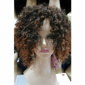 Free shipping<<Curly hair wig fashion new buy a small short role to play a wig