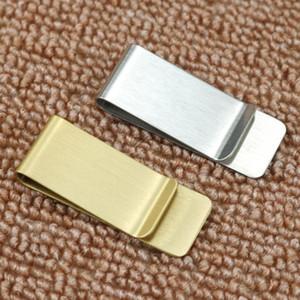 Stainless Steel Brass Money Clipper Slim Money Wallet Clip Clamp Card Holder Credit Name Card Holder From The Seller Friendsworld LX2325