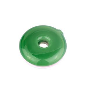 Chegada nova fábrica de vendas diretas rosquinhas simples e limpo tubo verde e rosa mão de vidro de cor podem ser personalizados