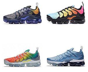 Plus TN Running Sneakers Men Women Be True Grape Bumblebee Hyper Blue Rainbow Bleached Aqua Triple Black stylist Shoes US 36-45