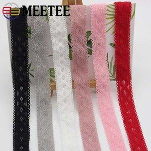 Meetee 20mm Multicolor Elastic Band Elastic Lasty Webing DIY Baby Band Clothing Material Elastic Lastle EB002